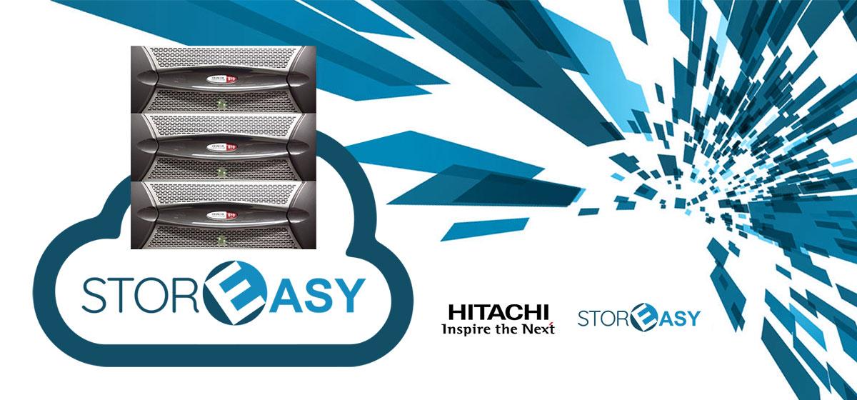 Hitachi HCP + StorEasy
